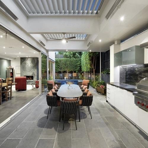 bluestone pavers - tiles- non-slip outdoor pavers - bunnings tiles