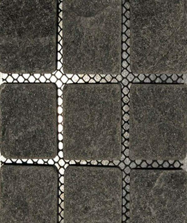Bluestone Cobblestones Black Driveway Tiles